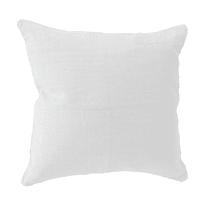 Cuscino INSPIRE 100% lino bianco 45x45 cm