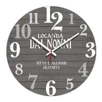 Orologio Dai nonni 34x34 cm