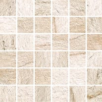 Mosaico Duomo H 30 x L 30 cm bianco