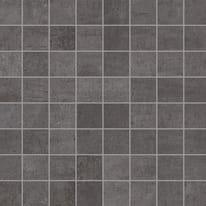 Mosaico Beton H 30 x L 30 cm nero