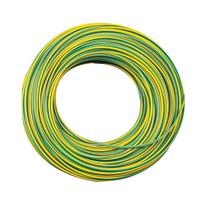 Cavo elettrico LEXMAN 1 filo x 4 mm² Matassa 15 m giallo/verde