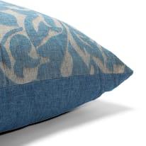 Cuscino Maxi musa blu 130x130 cm