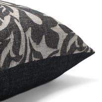 Cuscino Maxi musa nero 130x130 cm