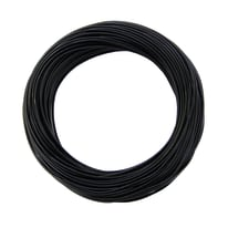 Cavo elettrico LEXMAN 1 filo Matassa 25 m nero