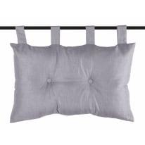Cuscino Testata letto Bea grigio 70x45 cm