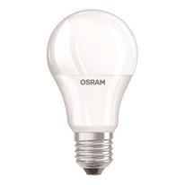 Lampadina LED E27 standard bianco caldo 9W = 806LM (equiv 60W) 200° OSRAM