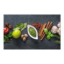 Passatoia Cucina antiscivolo Printo chef multicolor 110x50 cm