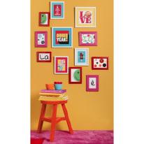 Quadro con cornice Color Full 54x50 cm 5 pezzi