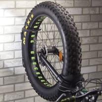Rastrelliera bici da parete L 18 x H 36 cm