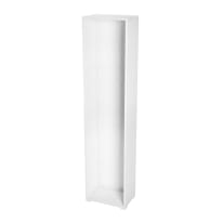 Struttura Spaceo L 45 x H 192 x P 30 cm bianco