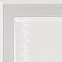 Tendina vetro Aida naturale tunnel 60x160 cm