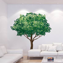 Sticker Wall tree 9x106 cm