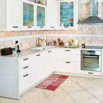 Tappeto Cucina antiscivolo Master cuore rosso 130x50 cm
