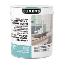 Primer precolorazione LUXENS per piastrelle, pvc, laminati, vetro bianco 2.5 L
