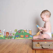 Sticker Little train 200x30 cm