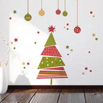 Sticker Christmas tree 22.5x67 cm