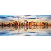 Quadro in vetro Skyline 50x125 cm