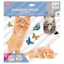 Sticker Cats 31.5x34 cm