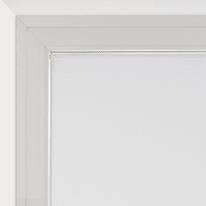 Tendina vetro Leo bianco tunnel 70x210 cm