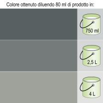 Colorante liquido Bravo 80 ml nero ossido