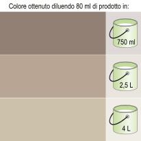Colorante liquido Bravo 80 ml marrone bruno