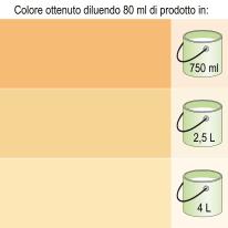 Colorante liquido Bravo 80 ml beige sabbia