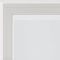 Tendina vetro Penelope bianco tunnel 90x150 cm