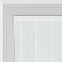 Tendina vetro Picasso bianco tunnel 90x170 cm