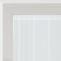 Tendina vetro Picasso bianco tunnel 90x240 cm