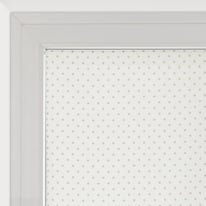 Tendina vetro Pois panna tunnel 58x160 cm