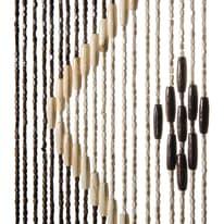 Tenda per porta Legno marrone 120x240 cm