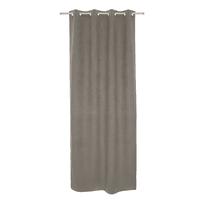 Tenda INSPIRE Newmanchester marrone occhielli 140x280 cm