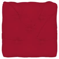 Cuscino per sedia o poltrona Elema rosso 40x5 cm