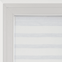 Tendina vetro Utopia bianco tunnel 45x90 cm