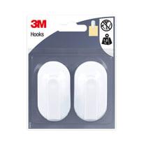 Gancio 3M IHAP39 in plastica bianco