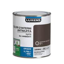 Pittura murale LUXENS 0.75 L marrone cioccolato 1