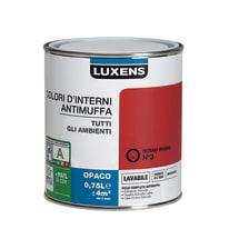 Pittura murale LUXENS 0.75 L rosso