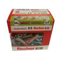 Tassello universale Duopower 6 L 30 mm x Ø 6 mm 50 pezzi