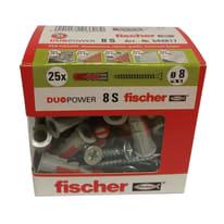 Tassello universale Duopower 8 L 40 mm x Ø 8 mm 25 pezzi