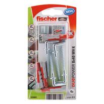 Tassello FISCHER Duopower 8 L 40 mm x Ø 8 mm 4 pezzi