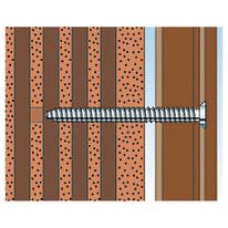 Tassello per materiale forato FISCHER FFS L 92 mm x Ø 8 mm 6 pezzi
