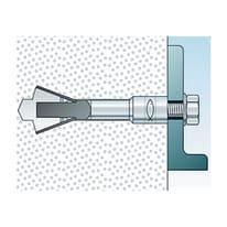 Tassello per materiale pieno FISCHER FPX L 75 mm x Ø 10 mm 2 pezzi