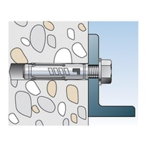 Tassello per materiale pieno FISCHER TAM L 49 mm x Ø 6 mm 8 pezzi