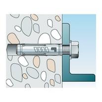 Tassello per materiale pieno FISCHER TA M L 56 mm x Ø 8 mm 8 pezzi
