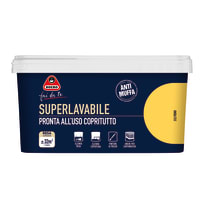 Pittura murale Superlavabile BOERO 2.5 L fieno