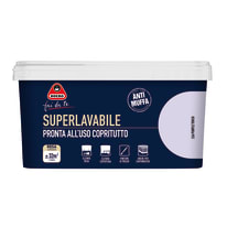 Pittura murale Superlavabile BOERO 2.5 L purple touch
