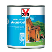 Impregnante a base acqua V33 Acqua-Gel bianco 0.75 L