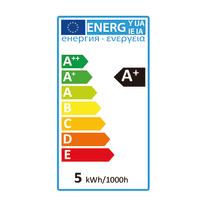 Lampadina LED E14 riflettore bianco caldo 5W = 470LM (equiv 40W) 300° LEXMAN