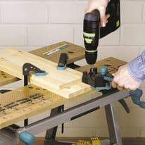 Guida WOLFCRAFT in legno  x 205 mm