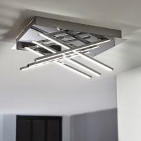 Plafoniera Otok bianco, in metallo, 35x27 cm, LED integrato 20W 1500LM IP20 INSPIRE